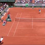 L'incroyable défense de Murray face au pilonnage de Wawrinka
