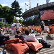 La place des Mousquetaires, le poumon de Roland Garros