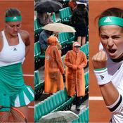 La pluie, Mladenovic, Ostapenko : ce qu'il faut retenir de la journée de mardi à Roland-Garros