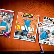 La presse ibérique célèbre Nadal «héros de l'Espagne»
