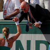 Bernard Giudicelli encourage Kristina Mladenovic