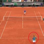 Nadal était en forme, la preuve avec ce somptueux passing