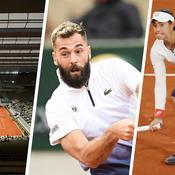 Le toit, Paire, Garcia : ce qu'il faut retenir de la première journée de Roland-Garros