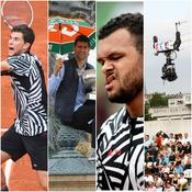 Dominic Thiem, Novak Djokovic, Jo-Wilfried Tsonga, France Télévisions