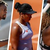 Gaël Monfils, Naomi Osaka, Serena Williams