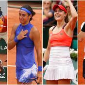 Gaël Monfils, Caroline Garcia, Alizé Cornet, Andy Murray