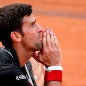 Novak Djokovic broie du noir