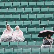Orages et pluie à Roland-Garros