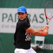 Pour son premier Roland-Garros, Barrere vise l'exploit contre Goffin