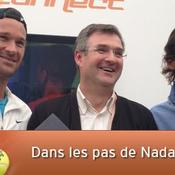 Rafa au village de Roland-Garros c'est le « pipole » ultime