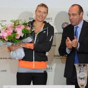 Maria Sharapova et Gilbert Ysern