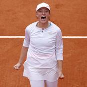 La Polonaise Iga Swiatek créé la surprise à Roland-Garros en battant l'Américaine Kenin