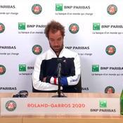 Roland-Garros : Le blues de Richard Gasquet, éliminé au 1er tour