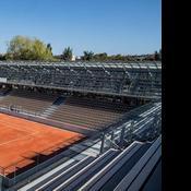 Roland-Garros : le court des serres d'Auteuil qui a fait polémique est terminé