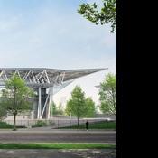 Roland-Garros : le futur toit du court Suzanne-Lenglen dévoilé