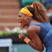 Serena dans la douleur