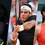 Serena, Del Potro, Garcia : 5 raisons de suivre Roland-Garros ce mardi