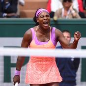 Serena n'est pas encore au point
