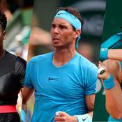 Serena, Nadal, Garcia : Résumé de la 3e journée de Roland-Garros