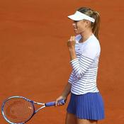 Sifflée par le public, Sharapova assume
