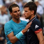 Rafael Nadal et Dominic Thiem