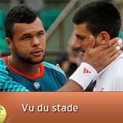 Jo-Wilfried Tsonga et Novak Djokovic