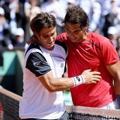Roland-Garros David Ferrer et Rafael Nadal