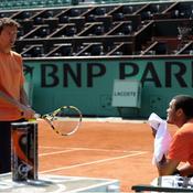 Eric Winogradsky et Jo-Wilfried Tsonga