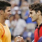 Novak Djokovic - Roger Federer