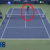 US Open : La balle de match ultra-spectaculaire de Monfils