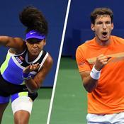 US Open : Osaka et Carreno se hissent dans le dernier carré