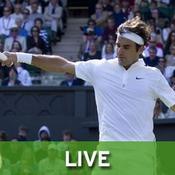 Roger Federer direct live