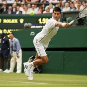 Wimbledon : Djokovic n'a pas convaincu
