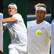 Wimbledon: Federer et Nadal, défis ultimes pour Pouille et Tsonga