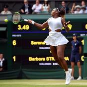 Wimbledon : expéditive, Serena Williams se qualifie pour la finale