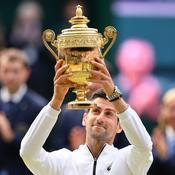 Novak Djokovic, roi de Wimbledon au bout du suspense