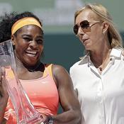 Serena s'offre une place aux côtés de Navratilova, Evert et Graf