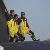 Brest Atlantiques : Cammas et Caudrelier, les super stars des océans