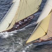Des bateaux de légende rassemblés aux Voiles de Saint-Tropez
