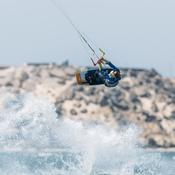 Kitesurf: Nicolas Delmas au pied du podium du championnat du monde à Dakhla