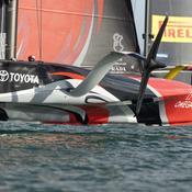 Coupe de l'America : toujours aussi serré entre Team New Zealand et Luna Rossa