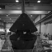 Installation du cockpit sur la coque