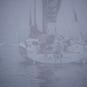 Solitaire: tension extrême à bord des Figaro Bénéteau