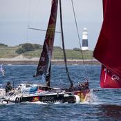 Solitaire Urgo Le Figaro:  trois échappés et un (énorme) coup fin dans la 3e étape