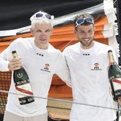 Riou triomphe sur l'Atlantique un an avant le Vendée Globe