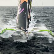 Trophée Jules-Verne : Coville et Sodebo plus rapides qu'Idec Sport et Joyon à l'équateur