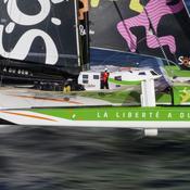 Trophée Jules-Verne : un safran abîmé, Coville et Sodebo jettent l'éponge