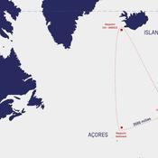 Les marins du Vendée Globe mettent le cap vers l'Arctique avec les crocs