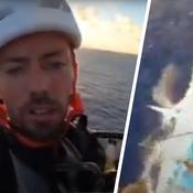 Vendée Globe : la folle escalade du leader Thomas Ruyant dans le mât de son bateau