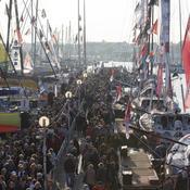 Vendée Globe: vers une jauge de 9.000 personnes le jour du départ